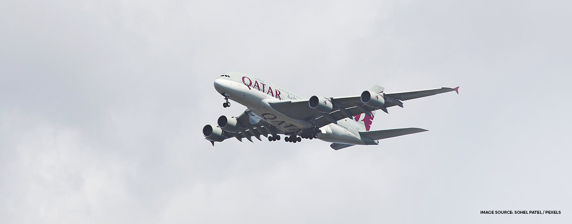 Qatar Airways Qsuite business class