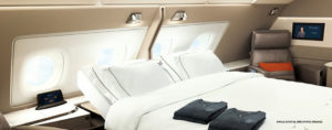 Singapore Airlines first class luxury suite