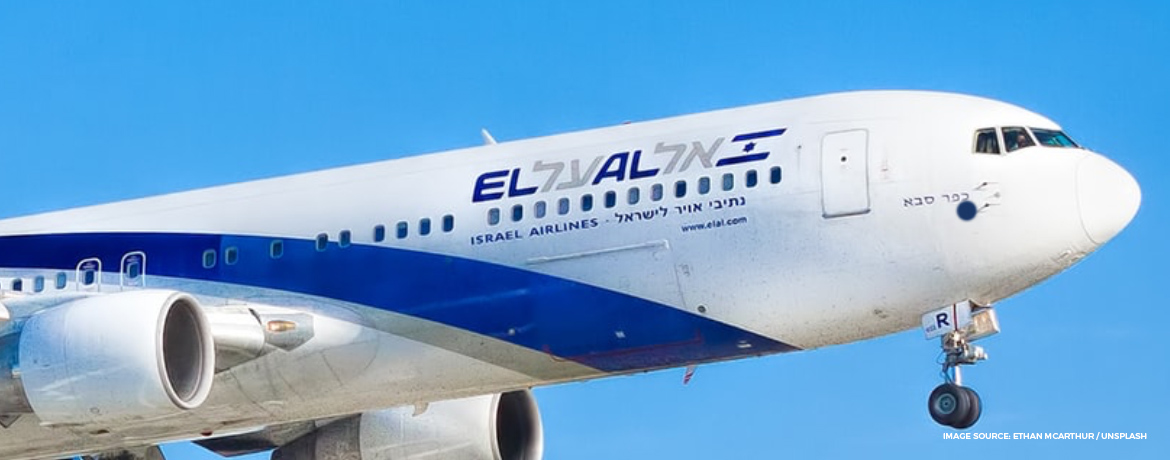El Al business class seat Dreamliner