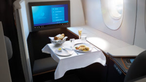 Malaysia Airlines business class suites