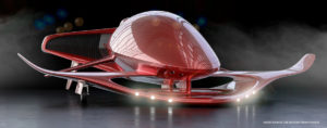 Futuristic airplanes aviation technology
