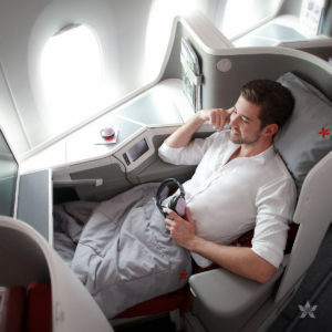 Hong Kong Airlines business class seat A350