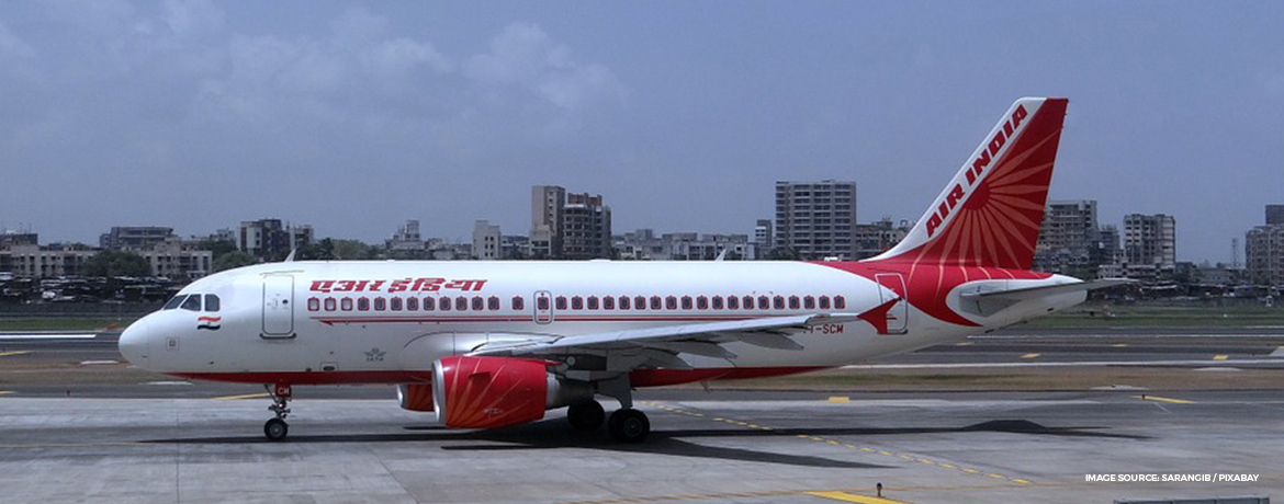 Air India business class seat