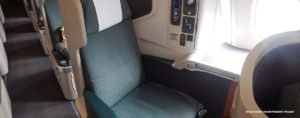 A350 Cathay Pacific business class