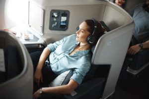 Cathay Pacific business class seat A350