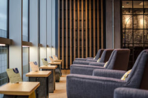 Virgin Australia business class lounge