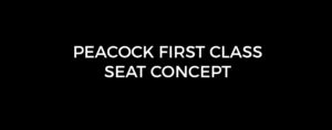 Peacock first class seat concept