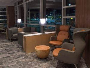 Air Canada Maple Leaf Lounge Vancouver Seating Area