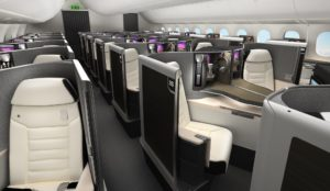 Best business class concept design by Safran Seats