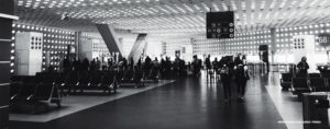 World's first airline lounge