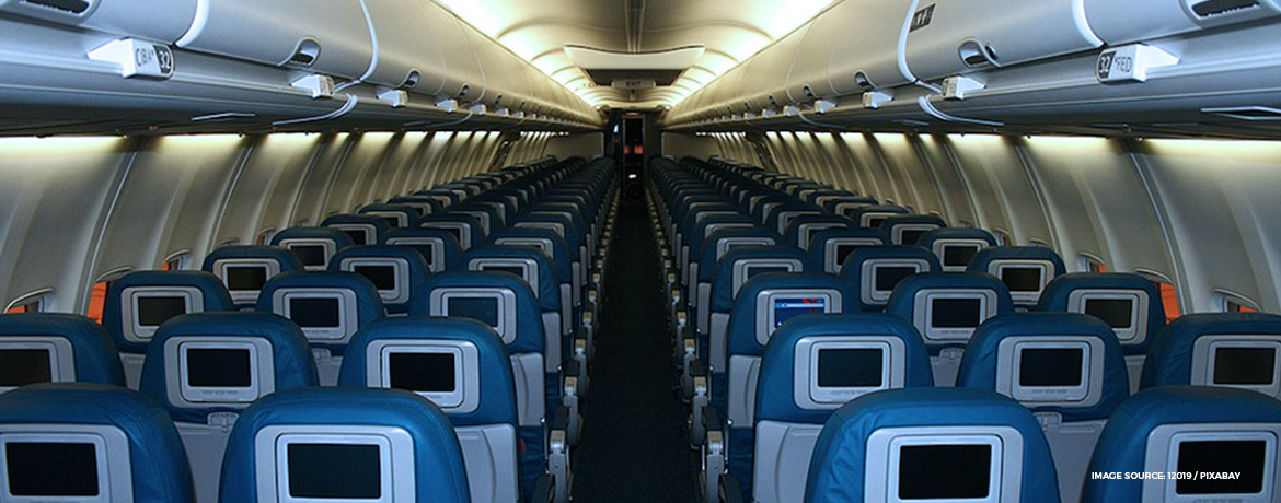 A350 connected cabin