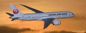 Japan Airlines new business class seat