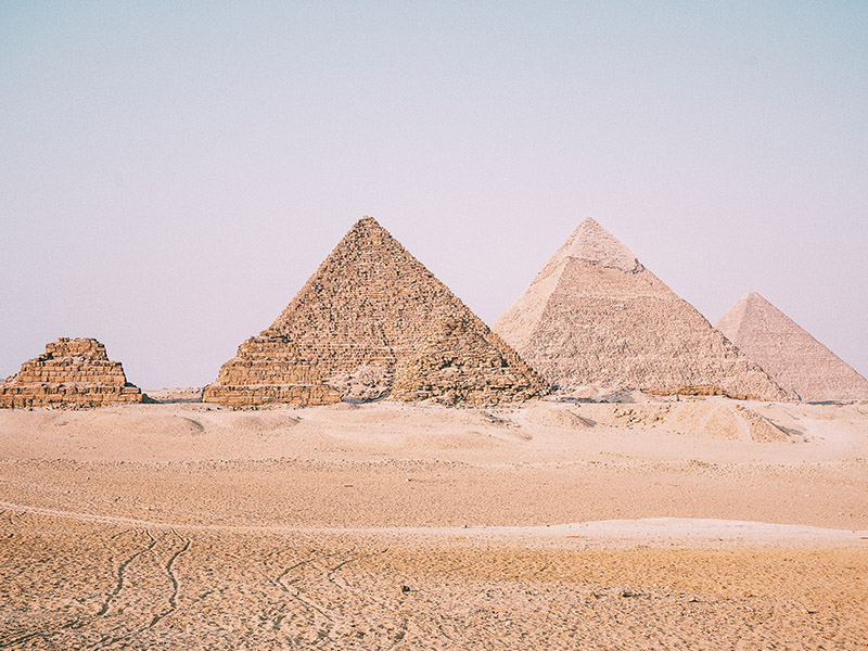 Secrets of the Pyramids of Giza