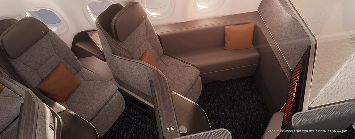 Vantage Solo new business class suite