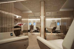inflight entertainment concept spa