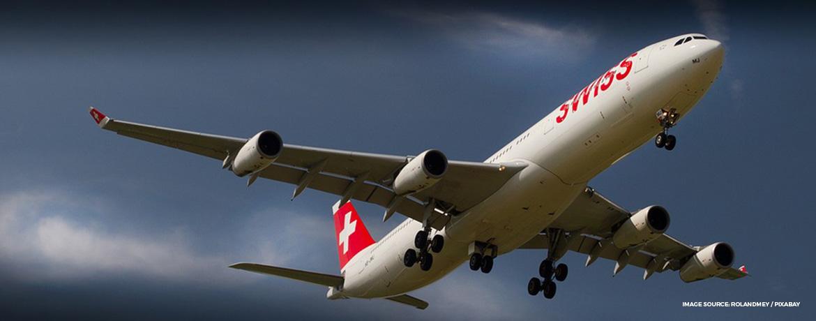 SWISS new business and first class seats