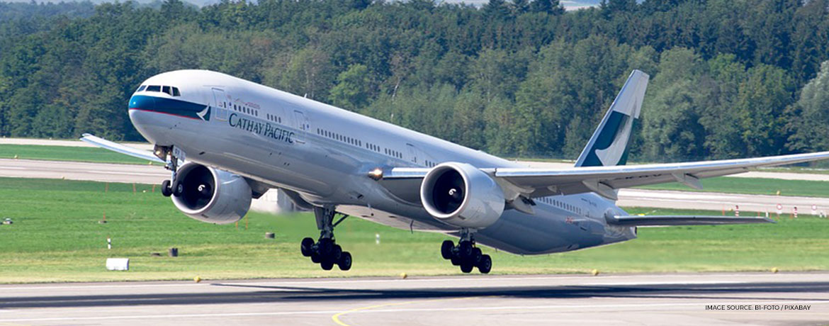 Cathay Pacific refreshed business class Boeing777