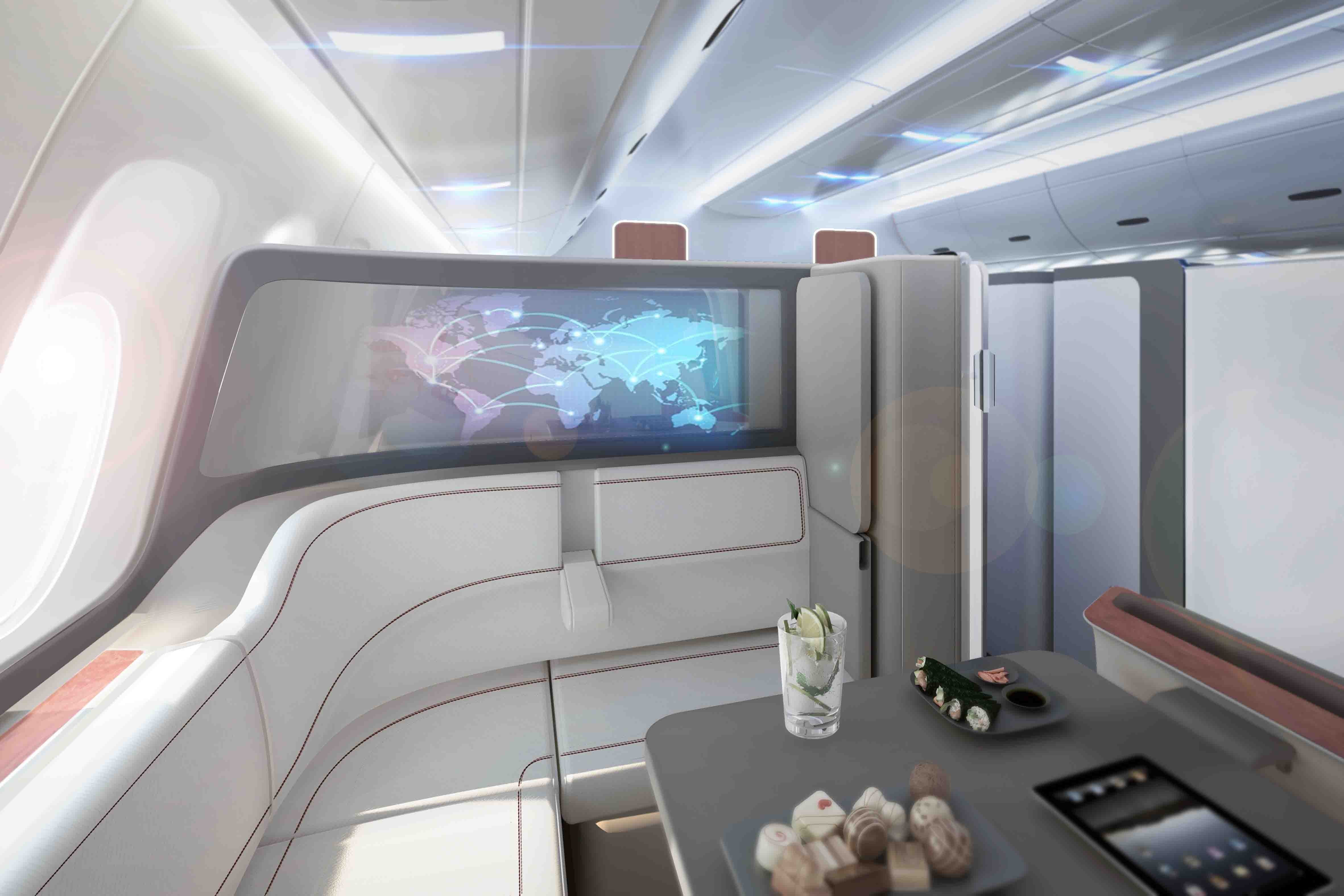 SOFA first class seat concept