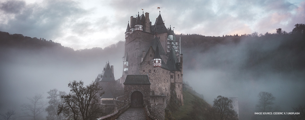 Tour European castles from home